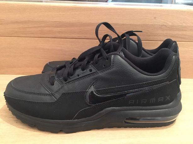 Nowe buty skórzane Air Max! Czarne nowy model roz. 44,5