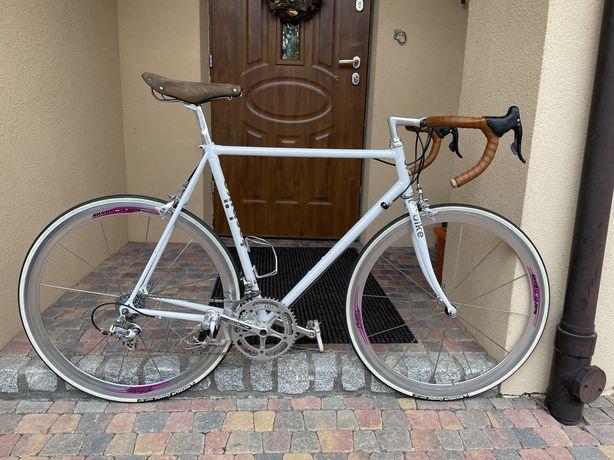 Rower szosowy - oldschoolowy projekt campagnolo, shimano, bez kół
