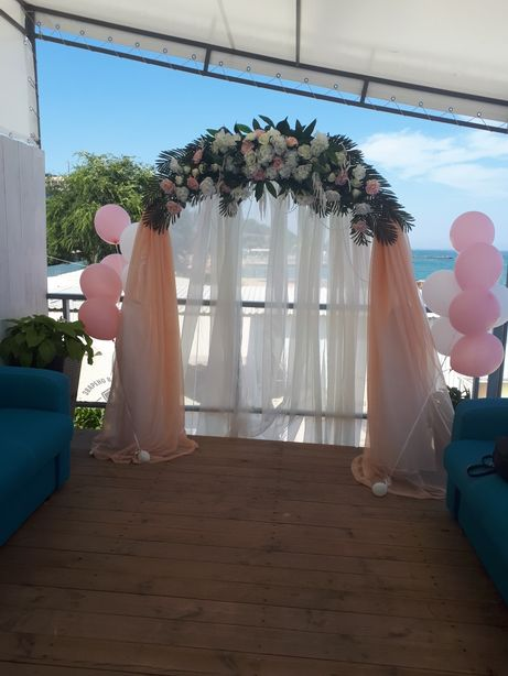 Арка свадебная на день рождения, свадьба , фотозона, задник