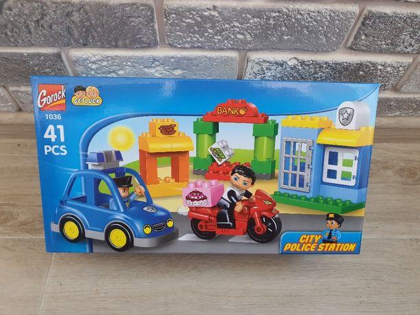 Новый детский конструктор Полицейский участок, аналог Lego Duplo
