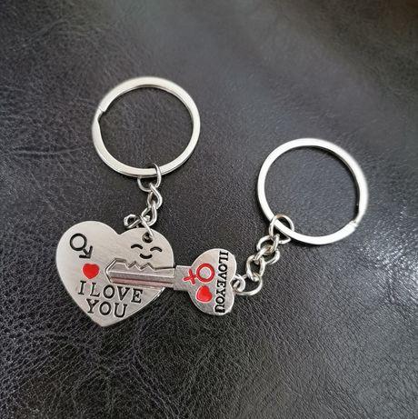 Porta-chaves amor NOVO