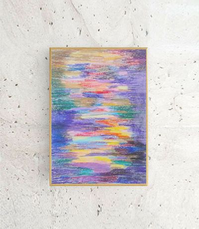 abstrakcja rysunek, kolorowy obrazek a4, nowoczesny obraz do loftu a4