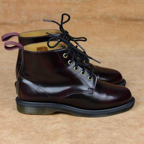 Женские ботинки Dr. Martens Emmeline 5 Eye Boot Cherry Red Оригинал 37