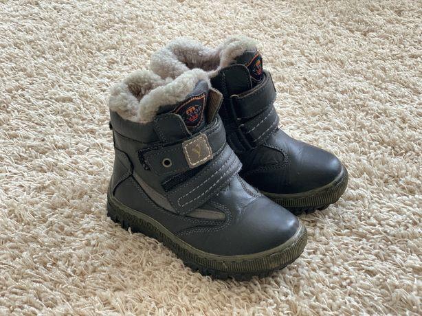 Зручні теплі чобітки Y-top для хлопчика