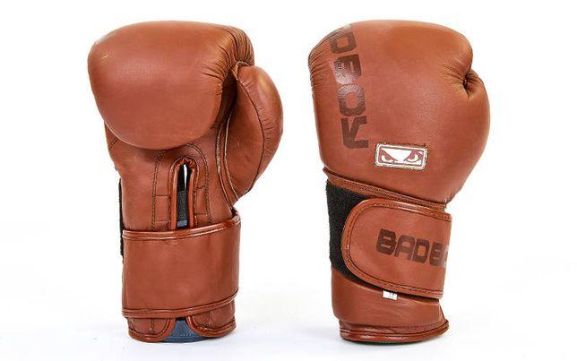 Перчатки боксерские натуральная кожа Hayabusa, Bad Boy