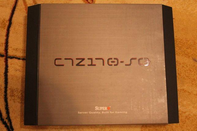 НОВАЯ серверная игровая материнская плата Supermicro C7Z170-SQ