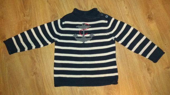 Sweter chłopięcy rozm. 116