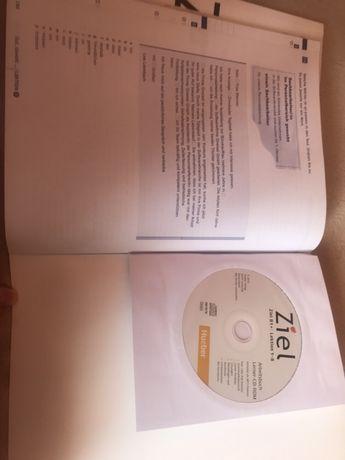 Książka i ćwiczenie do nauki j. Niemieckiego Ziel B1+