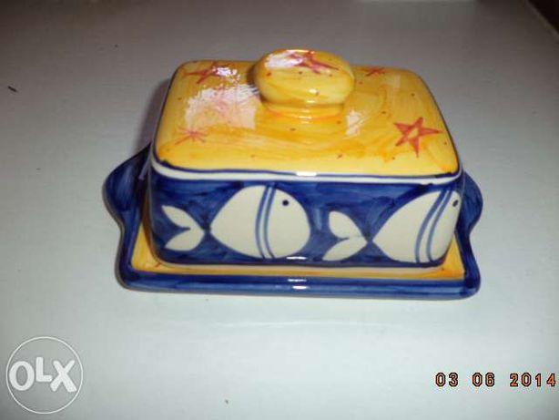 Mantegueira Cerâmica Rústica-Padrão Mar (portes grátis)