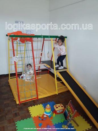 Уголок, горка, детский спортивный комплекс, качели, игровая площадка
