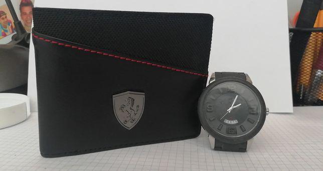 Sprzedam portfel + zegarek