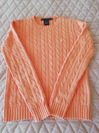 Sweter damski Ralph Lauren warkocz