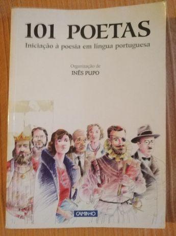 Livros juvenis: poesia, contos e gramática
