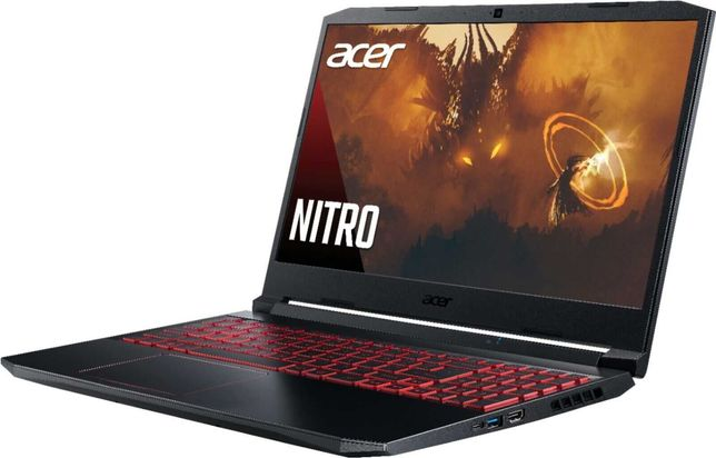 Acer Nitro 5 15.6'' FHD Gaming, Intel i5 GTX 1650,32GB RAM & 512GB SSD