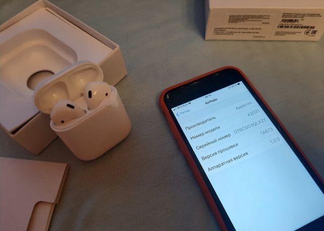 USED б/у Airpods 2 wireless case наушники | Оригинал | АКЦИЯ Аирподс