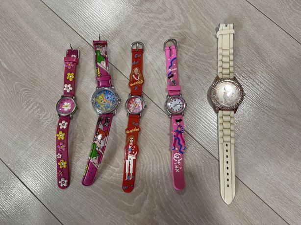 Дитячі дівчачі годинники годинник часы  з вінкс барбі