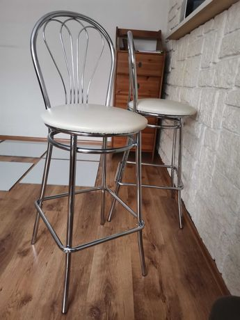 Krzesło barowe 2 szt 75zł/szt.
