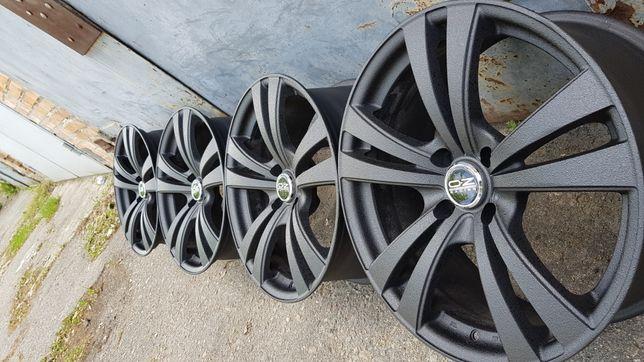 Литые диски R 18 4*108 (форд фиеста, ситроен с4, 5, пежо 5008, 408 307