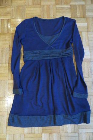 Sukienka fioletowa - Rozmiar 36