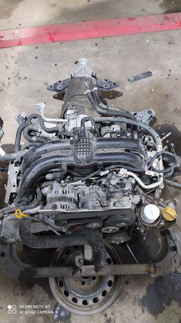 Мотор Subaru Outback FB25 (кпп генератор стартер датчик катушка )
