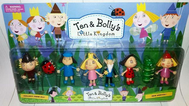 Набор фигурокБена и Холли Ben & Holly's Little Kingdom.