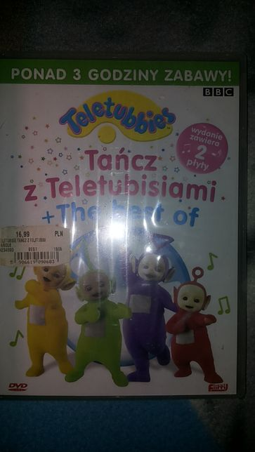 Tańcz teletubisiami the best Dvd