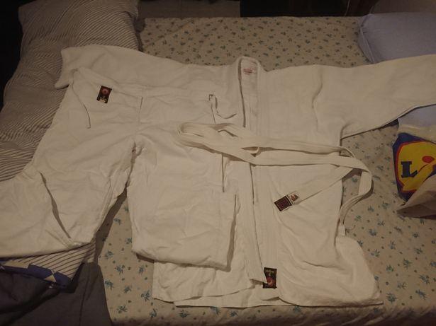 Fato kimono karate branco RUTRA tam 5 / 180 100% algodão