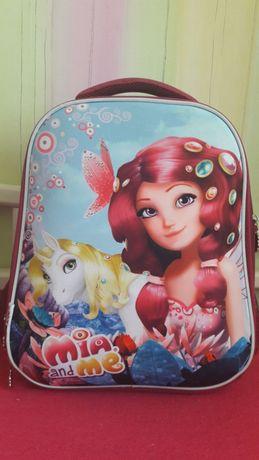 Рюкзак школьный каркасный Kite Mia and Me