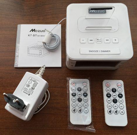 Wielofunkcyjne Radio Budzik Bluetooth AUX Iphone