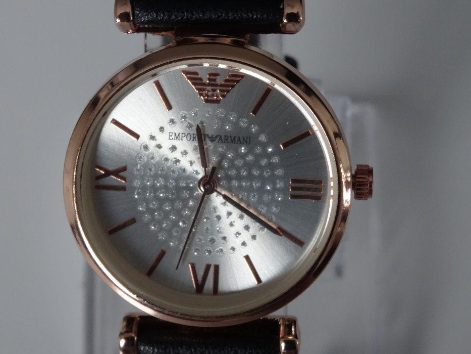 Śliczny delikatny damski zegarek Emporio Armani Tomaszów Mazowiecki - image 1