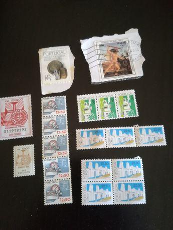 Selos para colecção