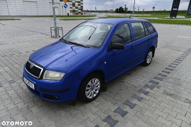 Škoda Fabia 1.9 TDI Kombi / Lift / 100 KM / Klimatyzacja / Dwa zestawy opon