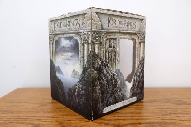 Caixa (vazia) Collector's DVD gift set The Lord of the Rings