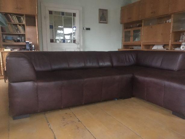Naroznik skórzany sofa skóra naturalna Almi Decor.
