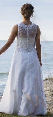 Suknia ślubna r.36