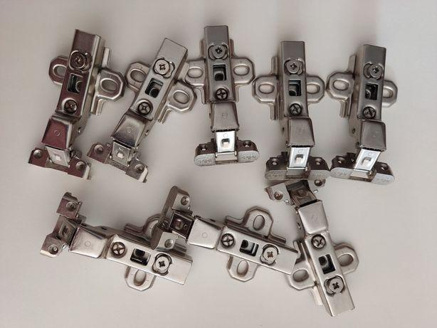 Петля Hettich Intermat 9936, полунакладная, для алюминиевого профиля