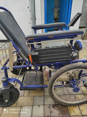 Коляска инвалидная с електропрыводом Искра