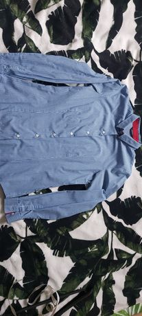 Koszula niebieska w kratkę Esmara roz. 36