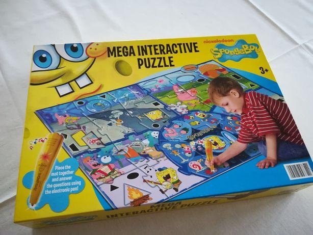 Mega puzzle interaktywne Clementoni