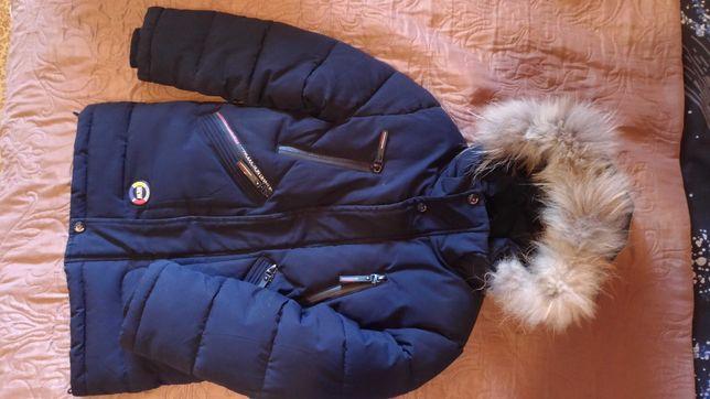 Куртка зимняя на мальчика 4-5-6 лет