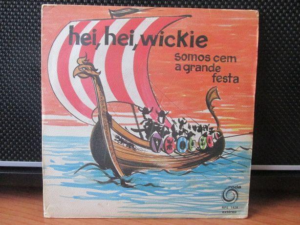 Edição rara do single Hei, Hei Wickie (Editora Roda)
