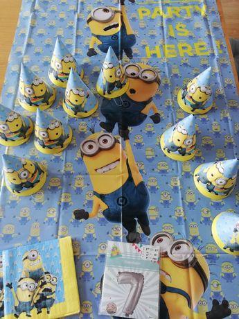 Zestaw urodzinowy Urodziny Minionki Party