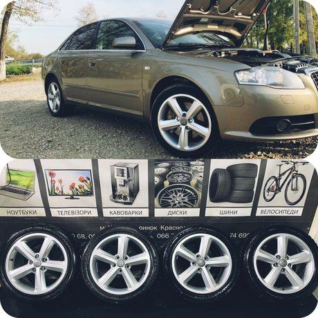 Диски і Шини 17R 5x112 7.5J DIA 57.1 ET43 Audi Skoda Seat VW