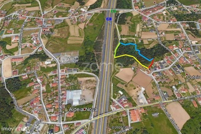 Terreno 9178m² frente para a Autoestrada A1 Travanca S. Maria da Fe...