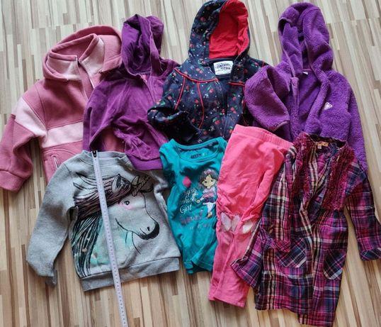 Bluza dla dziewczynki r.104 5sztuk