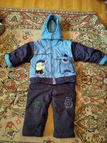 Зимний комбинезон (комбинезон штаны куртка)