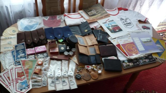 Unikatowa kolekcja pamiątek po byłej FSC Star Starachowice