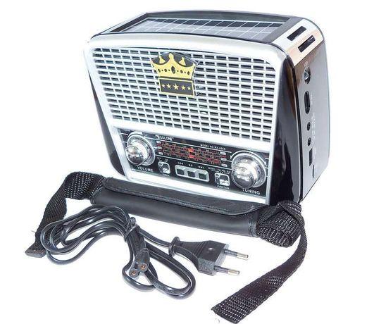 Радиоприёмник GOLON RX-455S с солнечной батареей FM/AM/SW, USB microS