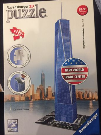 Puzzle 3d New World Trade Center 216 elementow