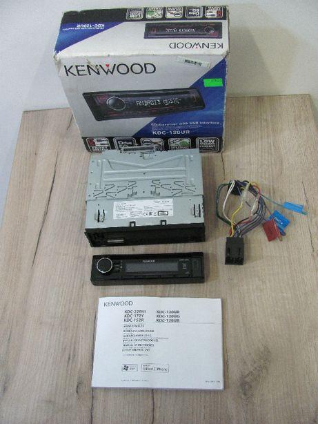 Radio samochodowe KENWOOD CD KDC-120UR CD+USB